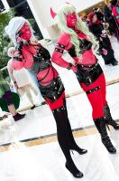 Scanty and Kneesocks by EminenceRain