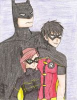 The Bat Family by kittycatalice