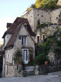 Rocamadour 21 - Old house by HermitCrabStock
