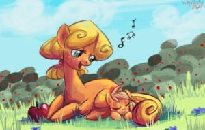 Mother Apple by StrixMoonwing