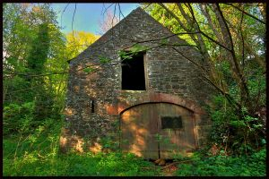 Derelict Saw Mill by GaryTaffinder