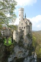 Lichtenstein Castle Germany by GrnDrgn