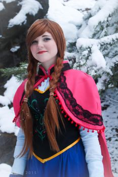 Anna of Arendelle by Pixeffect
