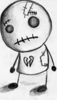 The broken hearted Rag Doll. by gothicpickle