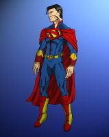 Superman redesign by Stark-liverbird