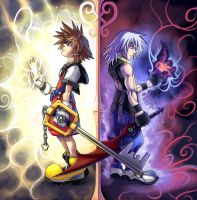 KH: The Light and the Twilight by Risachantag