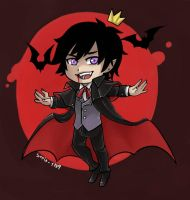 Chibi Vincent The Vampire [YCH] by sofia-1989