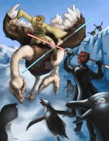 Star Wars Antarctica by Skyrays