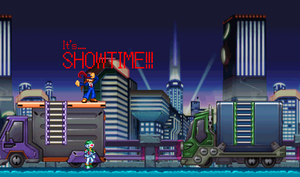 It's... SHOWTIME!!! by ViralOmegaShadow