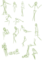 Pose Sheet 3 by goldendragonqueen32
