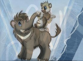 Icepatch and Remi -Contest Entry- by lonesome-wolf-child
