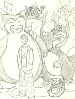 stadium battle. trainer tim by The-Insignia