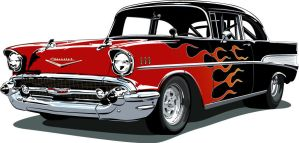 Street Rod Bel Air by vonbmac