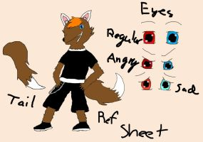 Ref Sheet by JirouNamakii