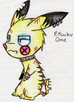 Emo Pikachu by GenisisRocks