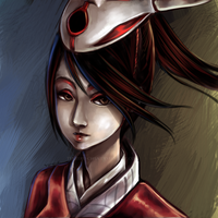 LoL - Bloodmoon Akali by tenzeru-chan