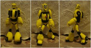 Custom plush - Bumblebee by silentorchid