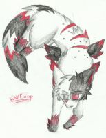 Wolfloup by RedNoctali