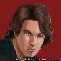 Close up of Anakin Skywalker by mohdsyukri83