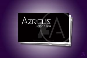 Salon logo and Business Card by AnotherBcreation