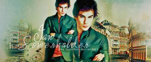Ian Somerhalder  Damon by sapo0on