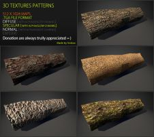Free 3D textures pack 46 by Nobiax