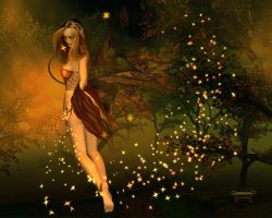 Autumn Fairy by anelia