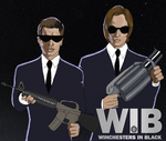Winchesters In Black by serenada