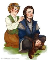 Of Hobbits and Hair Braiding by Mad-Hattie