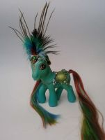Athulea Turquosa - full view by NordicPonyBoy
