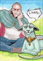 The Will and Lying Cat by skardash