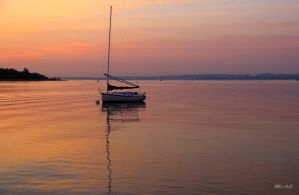 Happiness Is Sailing by Doumanis