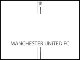 Manchester United Wall by iKool