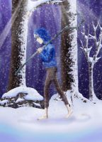 Lonely Jack: Snowfall by MillieMBanshee87