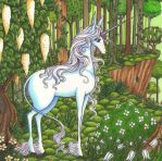 The last Unicorn by Ganjamira