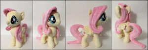 Plushie: Fluttershy - My Little Pony: FiM by Serenity-Sama