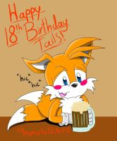 Happy 18th birthday tails by mimichi1234312