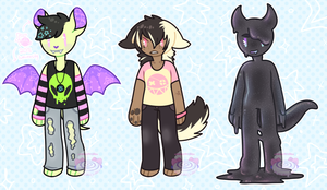 [Doe #1: Monster Boy Adopts] [OPEN] by sweetroIIs