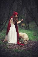 Red Cape Lady by Anette89