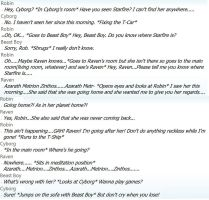 Roleplaying with myself on MSN by PokemonBWishesCilan