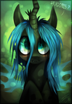the cute evil by Imalou