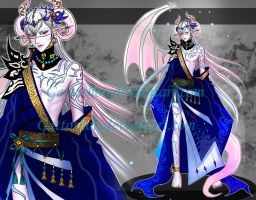 ALBINO MALE ADOPT 110 [ Auction ] [ CLOSED ] by GattoAdopts