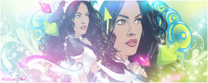 Megan Fox vector by akyanyme