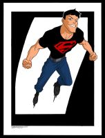 Superboy by johnsonverse