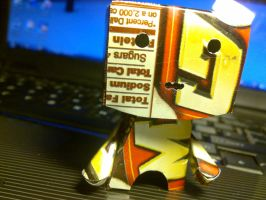 soda can robot by j0ne5y