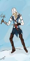 Connor Kenway AC3 by AlexIbnlaAuditore08