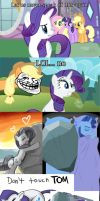 The Internet doesn't forget Rarity... by Badmunky64