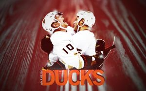 Getzlaf/Perry - Anaheim Ducks NHL by motzaburger