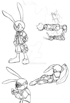 Oswald the Lucky Rabbit KH by KH-13