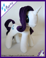 Rarity Plushie by DogerCraft